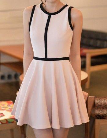 dress - http://zzkko.com/n153337-013-summer-new-Korean-temperament-elegant-jumpsuit-short-skirt-sleeveless-vest-skirt-dress-summer.html $28.62