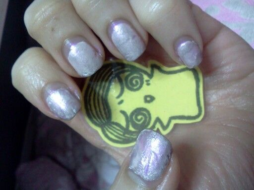 Pink nail  Cozy style