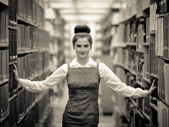 Missoula Portrait Photographer-Library Photography Shoot for Jaclyn by ayresphotography, via Flickr