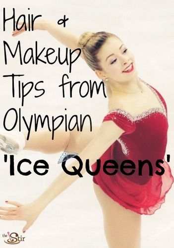 Figure skaters always looks so gorgeous! How to steal their looks!! http://thestir.cafemom.com/beauty_style/168620/8_hair_makeup_tips_from?utm_medium=sm&utm_source=pinterest&utm_content=thestir