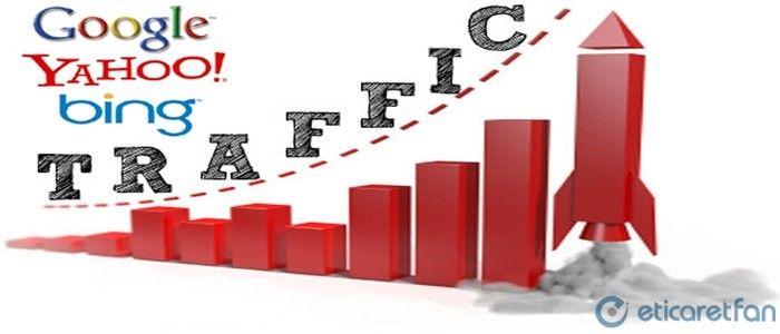 Web sitesinin trafik elde etmesi oldukça önemlidir ancak bu demek değildir ki web sitenize fazla bir ziyaretçi akını var ve çok satış yapacaksınız. İnsanlar genellikle gün boyu internette gezinirler ve çoğunluğu da alışveriş yapmadan ayrılır. Devamı