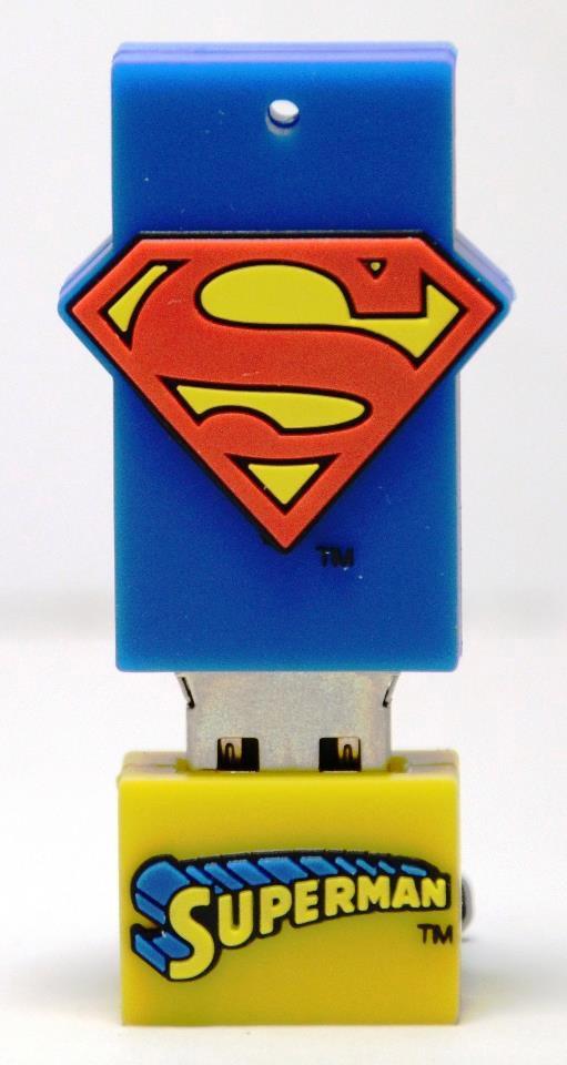 DC Comics Justice League 4GB USB Flash Drive, Superman Price: P988.00 DESCRIPTION Original Justice League Superman 4GB Flash Drive Specifications: . PVC fashionable design . Support USB 2.0 . 4GB Flash Memory . Size: 58 mm x 26 mm x 12 mm . Packaging: Blister card