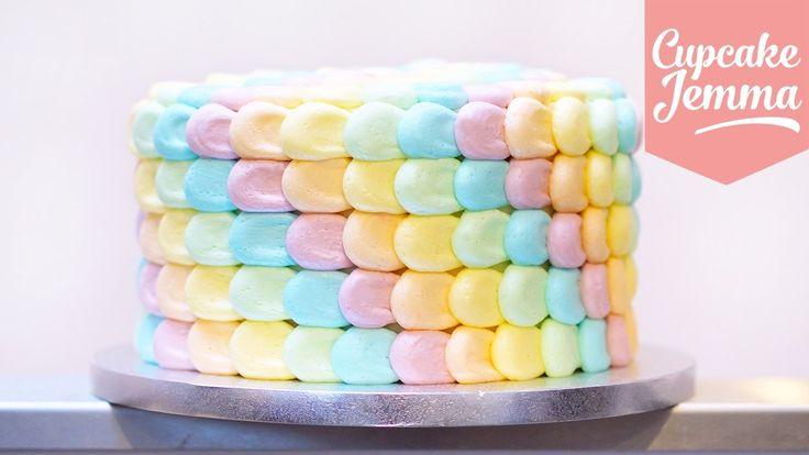 Cupcake Jemma Petal Cake