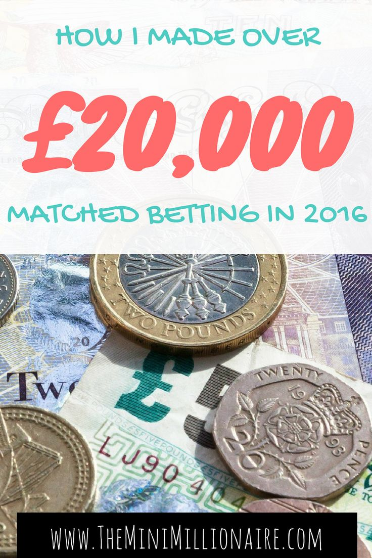 In 2016 I earned over £20,000 in tax free cash by Matched Betting, find out how I did it and how you can too!