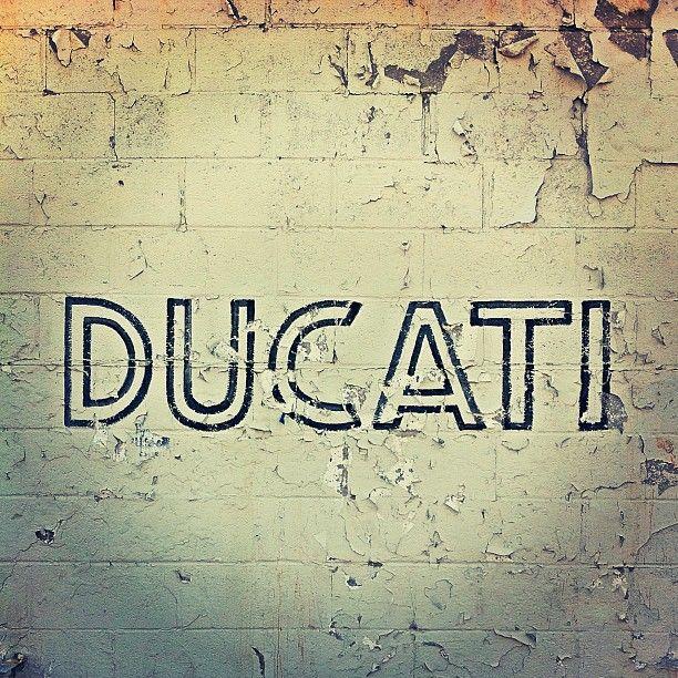 Ducati. instagram