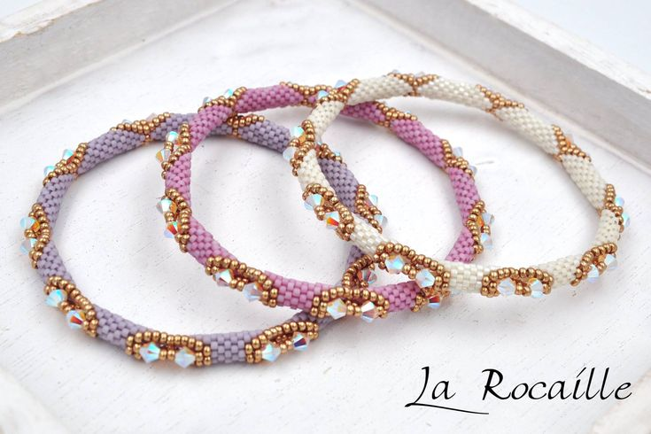 Bracelet by Puca beaded by La Rocaille.