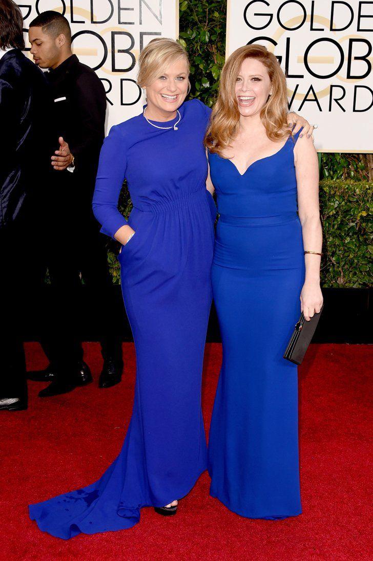 Pin for Later: Golden Globes 2015: Tous les Looks de la Soirée Amy Poehler et Natasha Lyonne