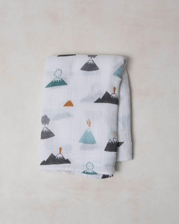 Cotton Swaddle - Lava Lava