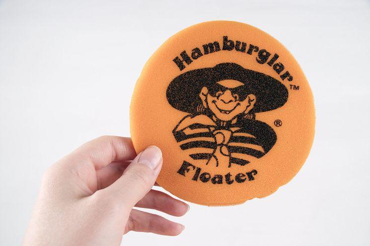 Hamburglar, Floater, McDonald's, Orange, Black, Hamburglar Floater, McDonalds Hamburglar Floater, Orange and Black, Pool Toy, Disk, Toy