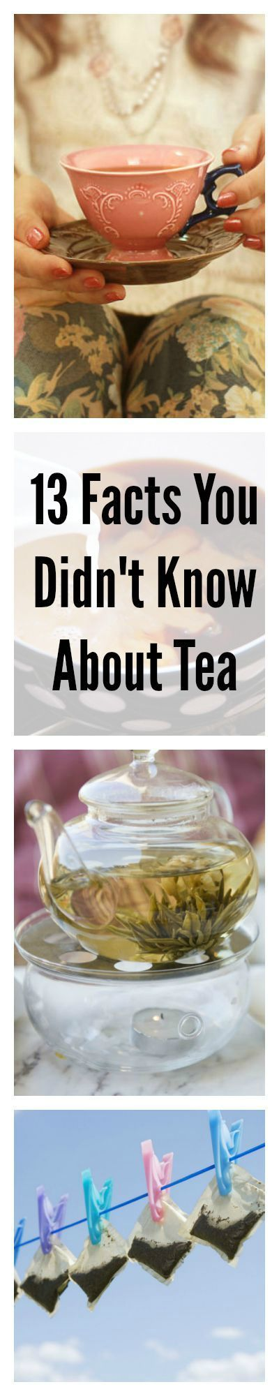 Like drinking tea? These facts will teach about the drink, how to brew it, and why to drink even more of it. There's always more to learn (and love) about the world's most widely consumed beverage.