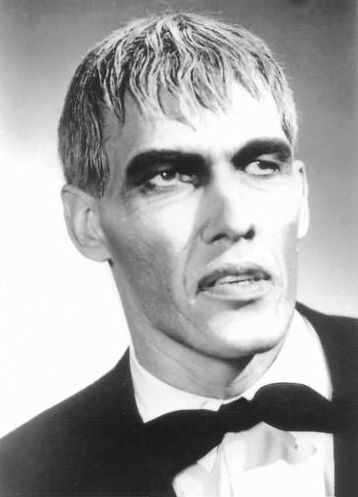 Ted Cassidy as 'Lurch': 1932-1979; American actor of TV and films; of complications following open heart surgery