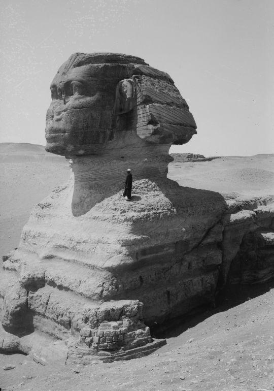 The Sphinx, Egypt, circa 19th century.