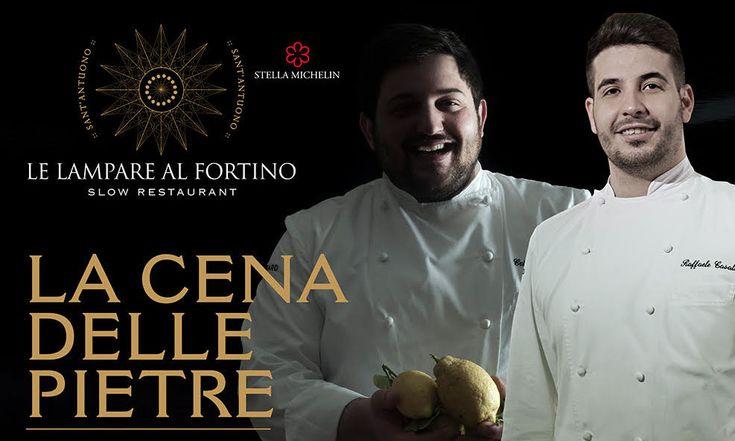 """Toscana, Puglia e Campania. Si rinnova venerdì 28 ottobre l'appuntamento con """"La Cena delle Pietre"""" presso il ristorante Le Lampare al Fortino di Trani."""