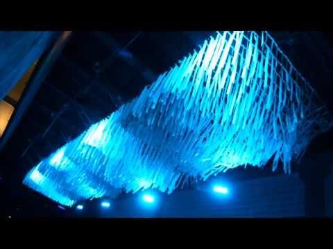 Vivid Sydney 2015 'Luminous Canopy' Kinetic Light + Sound Installation by McDermott Baxter : illumni – The World Of Creative Lighting
