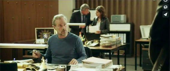 Filmbilder von 'TATORT' Frankfurt – 'Die Geschichte vom bösen Friedrich' – Szenenbild Bettina Schmidt – Kamera Sebastian Edschmid – Regie Hermine Huntgeburth