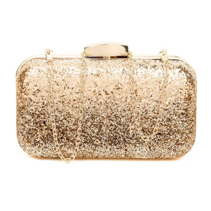 Rose Gold Evening Clutch Bag | Do you love to turn heads? This beautiful Bronze clutch will give you and your outfit that extra va va voom. Perfect if you are into #RoseGold and all things shimmery | evening bags | evening bags clutch | Bags | Gift | #Giftsforher |