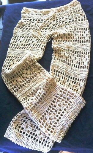 Calça  Crochet