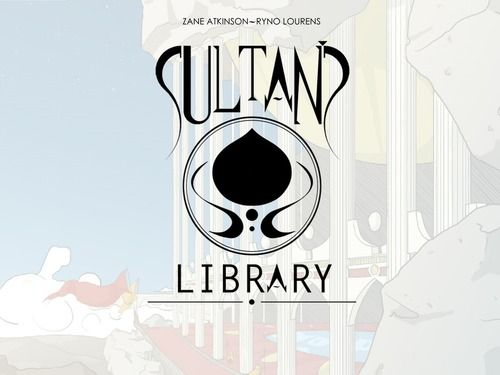 Sultan's Library Kickstarter #Cards #Games #Art