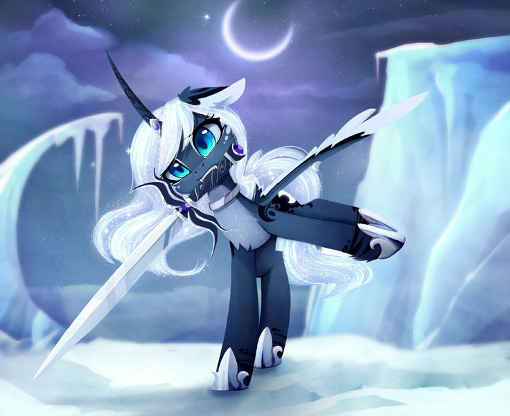In Ice MLP: Princess Luna