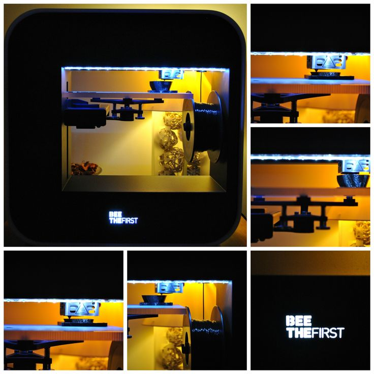My #BEETHEFIRST working stilly and printing a piece of art for my office!  #3Dprinting has no limits! #BEEVERYCREATIVE neither!