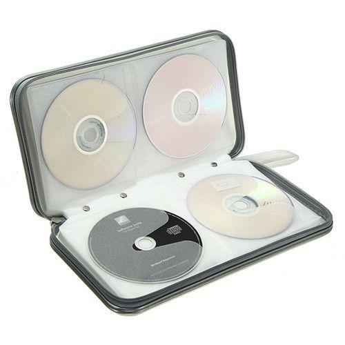 Дешевое Продвижение! 80 дисков CD DVD дорожная чехол бумажник держатель для хранения сумки жесткий   белый, Купить Качество Инструменты непосредственно из китайских фирмах-поставщиках:  Очень практичный и модный CD-мешок Он может вместить 80 шт. CD/VCD/DVD Защищает диск от пыли, сырости, царапин и корруп