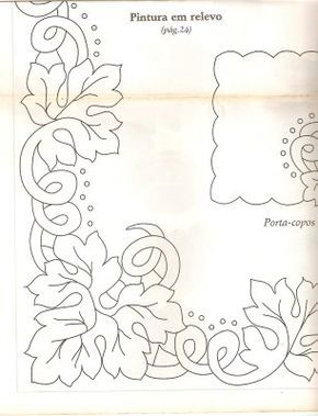 Inspiration for tablecloth----Looks beautiful when complete.