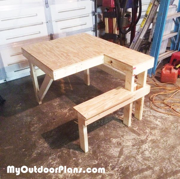 Diy Shooting Bench Outdoor Furniture Plans Pinterest