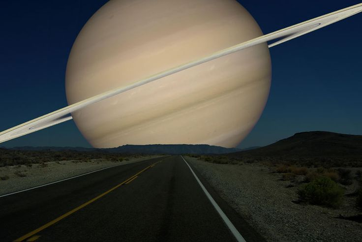 if-saturn ( Diameter 116,464 km) -was-as-close-to-earth-as-the-moon: What if Other Planets Were Close to Earth as the Moon? - A visualizations by Ron Miller