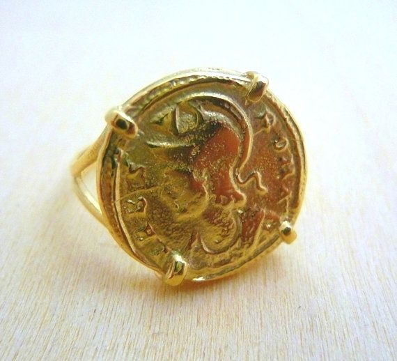 Best 25 Gold coin ring ideas on Pinterest