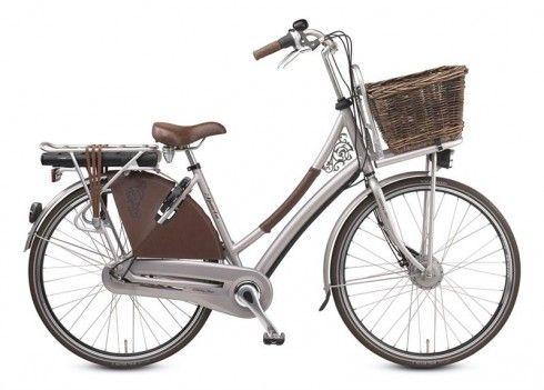 Een zeer geliefde elektrische fiets onder dames! #Spartacountrytour