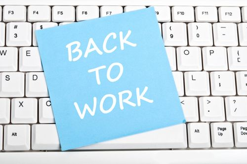 First day back to work after vacation, still remember everything about work. ‪#‎BackToWork‬ #‎BackToTheWork‬ ‪#‎Work‬