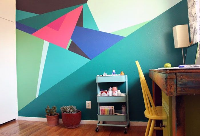 Check Out These Really Cool Geometric Design Ideas For Painting