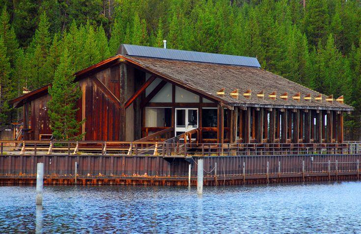 Grant Lakehouse Restaurant - Yellowstone National Park
