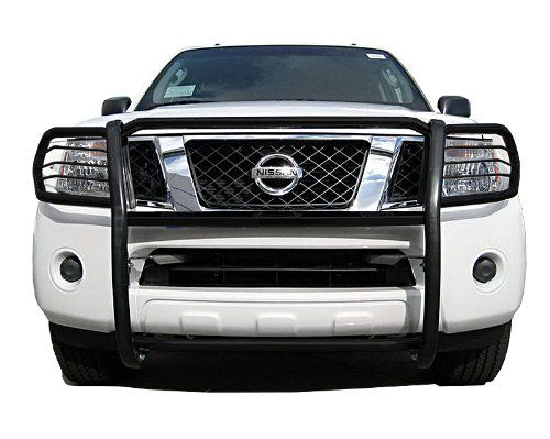 MaxMate Premium Black Grille Bumper Brush Guard Bull Bar #N74878 Custom Fit 2005-2017 Frontier; 2005-2007 Pathfinder. For product info go to:  https://www.caraccessoriesonlinemarket.com/maxmate-premium-black-grille-bumper-brush-guard-bull-bar-n74878-custom-fit-2005-2017-frontier-2005-2007-pathfinder/