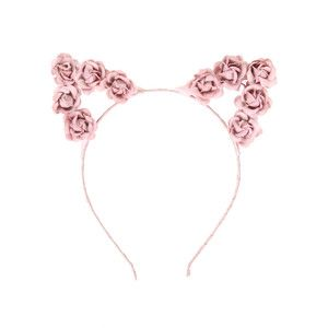 LOVEsick Pink Rose Cat Ears Headband | Hot Topic