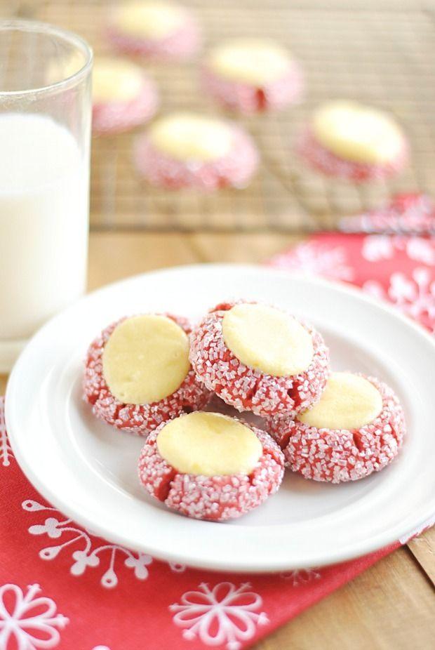 Red Velvet Cream Cheese Thumbprints http://www.somethingswanky.com/red-velvet-cream-cheese-thumbprints/?utm_campaign=coschedule&utm_source=pinterest&utm_medium=Something%20Swanky&utm_content=Red%20Velvet%20Cream%20Cheese%20Thumbprints