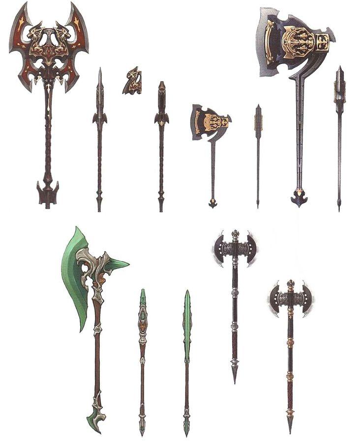 Final Fantasy XIV: A Realm Reborn - Marauder Weapons