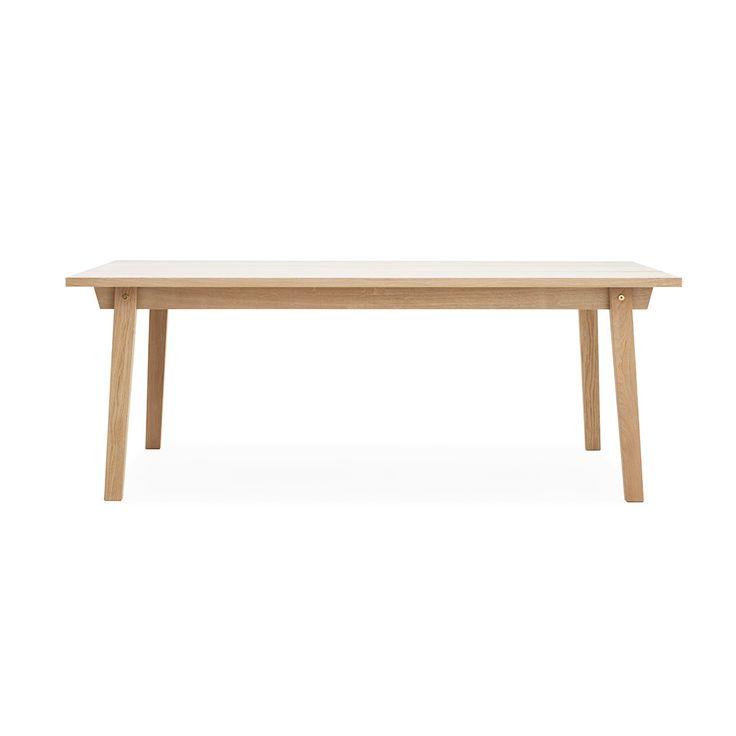 Table Slice 90x200cm, chêne, Normann Copenhagen