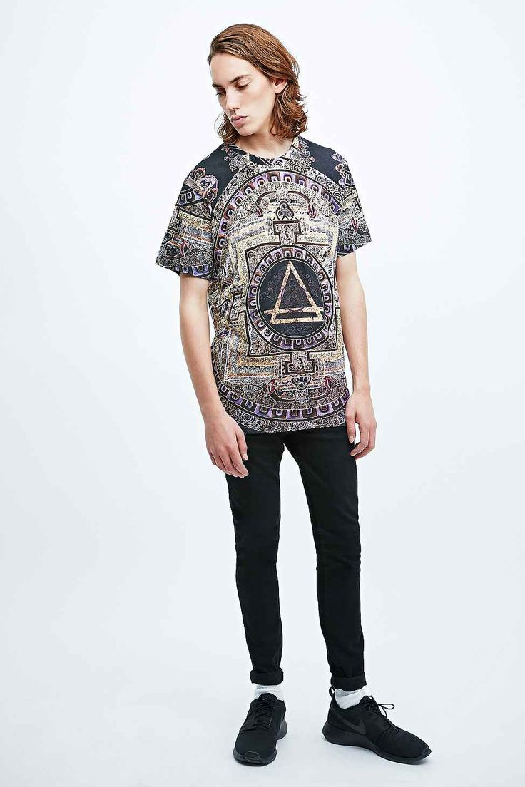 Eleven Paris Alouda Tee in Printed Black
