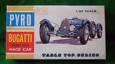 Vintage pyro bugatti type 59 g.p #racecar model kit 1/32 ##c303 #started,  View more on the LINK: 	http://www.zeppy.io/product/gb/2/391690811174/