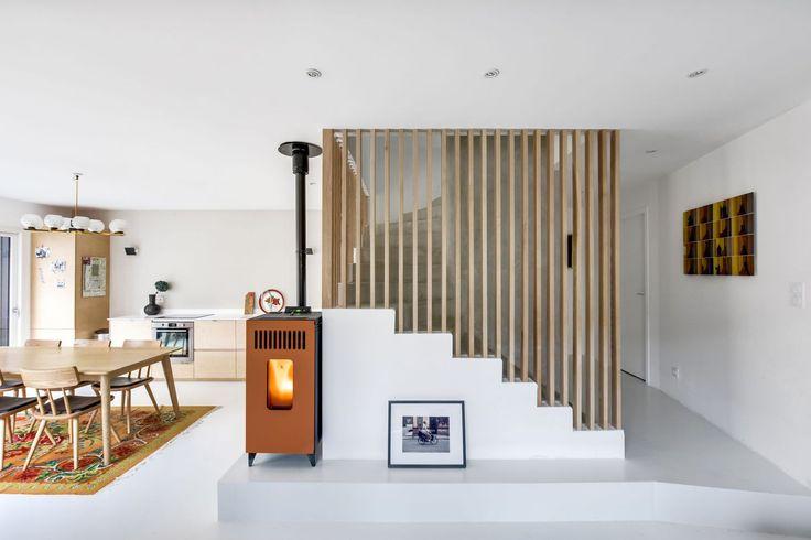 Les 51 meilleures images du tableau escalier sur Pinterest - construire une maison de 200m2