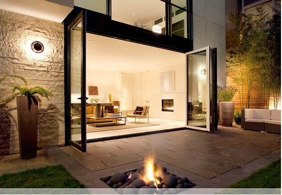 aluminium doors seamless indoor outdoor living