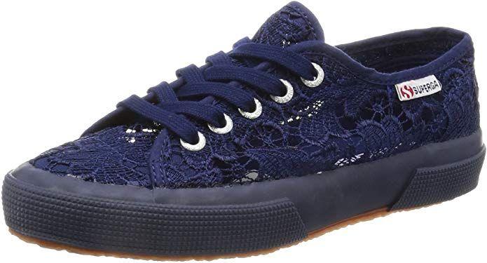 Preis Superga 2750 Macramew Sneakers Damen Blau (Spitze