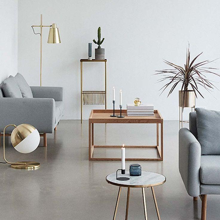 Hubsch Interior Beistelltisch Aenne Metall Beistelltisch Haus Wohnung Wohnzimmer