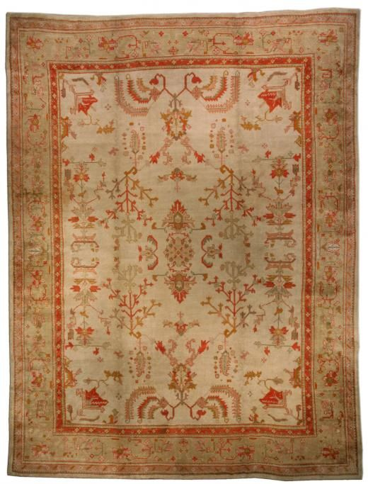 Find This Pin And More On Antique Oushak Rugs By Antonster.