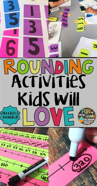 Read and find out how I practiced rounding with upper elementary students using hands on activities and games.  Freebies included!