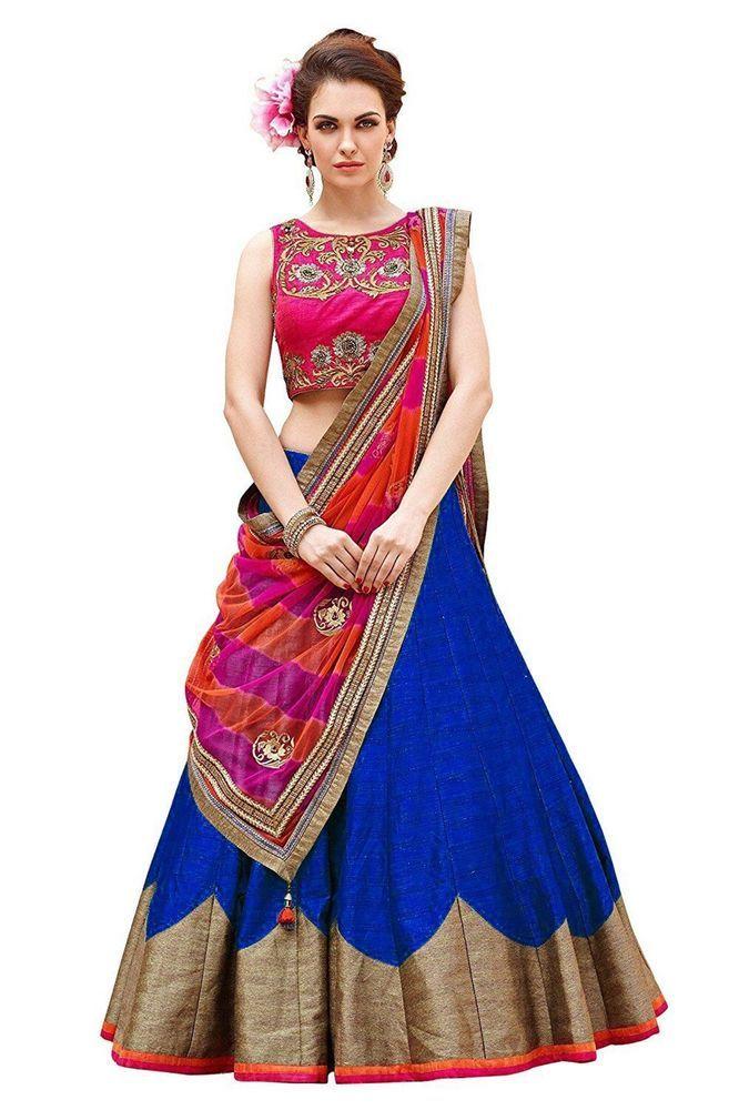 Wedding Indian Designer Party Pakistani  Lehenga Choli  Ethnic Lehnga Lh 10544