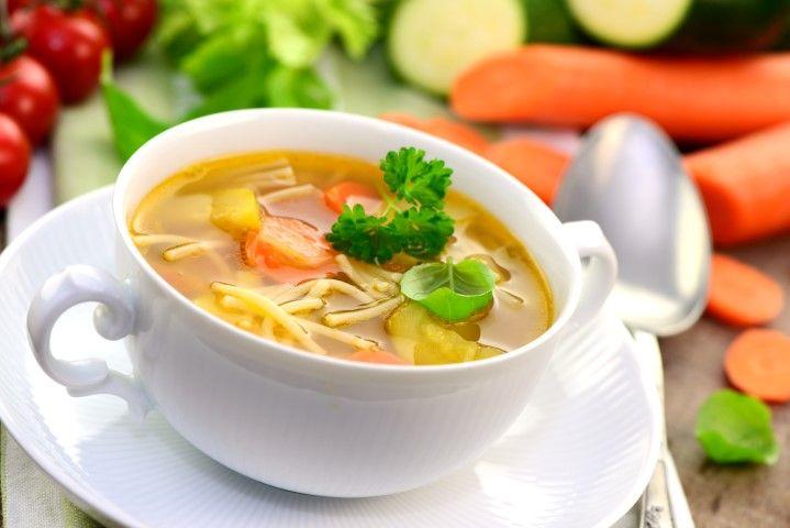 Картинки по запросу klare suppe mit eierstich