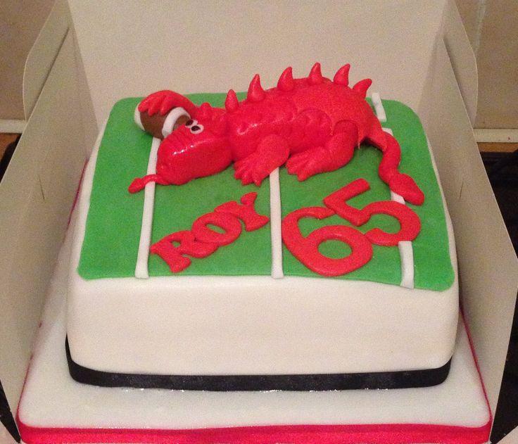 Welsh Birthday Cake