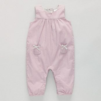 Baby Cord Dungaree | The White Company